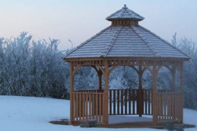 winterize your gazebo