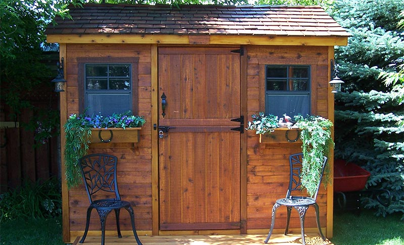garden sheds backyard design