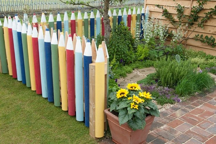 13 Creative Do It Yourself Garden Fencing Ideas Olt