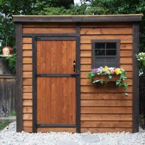 GardenSaver 8x4 with Single Door