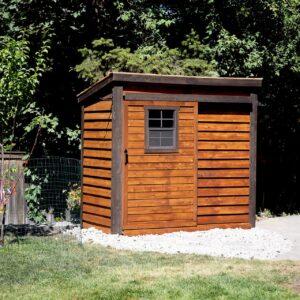 GardenSaver 8x4 with Sliding Door
