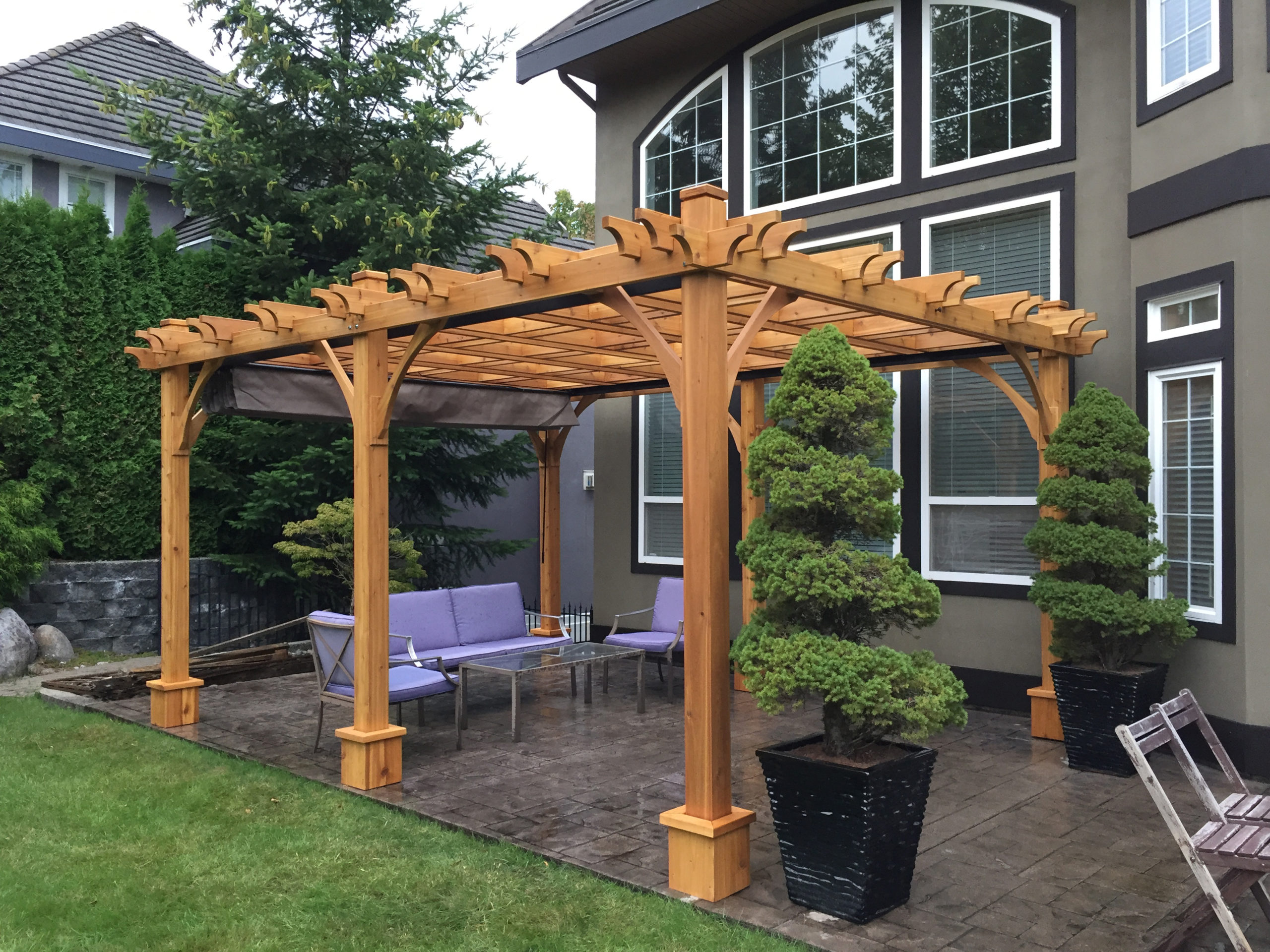 Pergola with Retractable Canopy | 10x16 - OLT