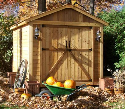 8x12 Space Maker Storage Shed